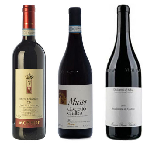 Dolcetto Pakket Musso Mossio Massimo Penna Piemonte Greenflash Wijn