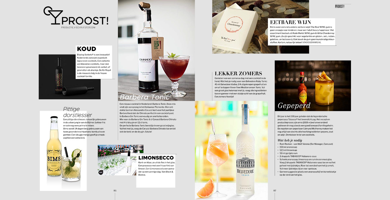 Cocktail Barbera Tonic Carucci Il Chinato Italiano Greenflash Wijn Piemonte Wijnhandel Wijnleverancier