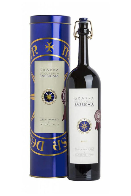 Grappa Sassicaia Jacobo Poli Greenflash Wijn