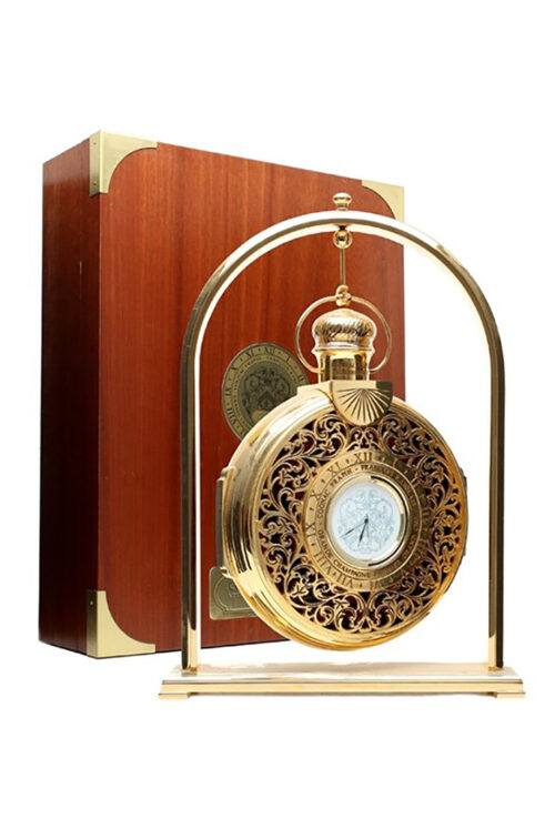 Frapin Francois Rabelais Pocket Watch Carafe Cognac Greenflash Wijn